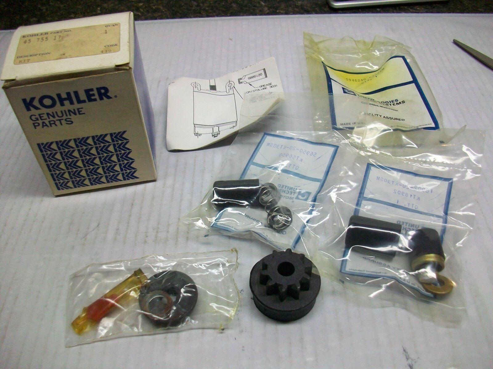 Nueva Unidad De Arranque Kohler Kit   45 755 17