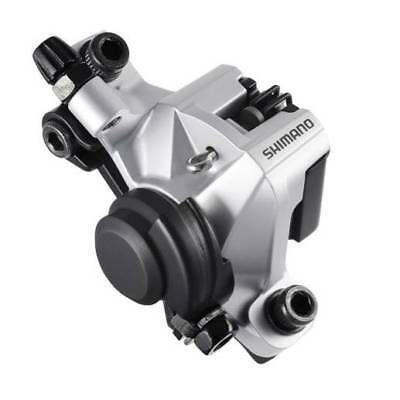 B01S Pads Shimano BR-M375 Cable Disc Brake Front//Rear Caliper SILVER inc