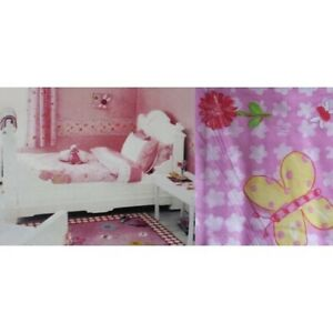 Designer-039-s-Guild-Candy-Butterflies-Daisies-Single-Bed-Quilt-Cover-Sheet-Set