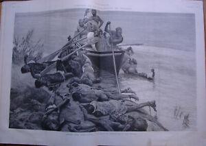 L'ILLUSTRATION 2511 DU 11/4/1891 JUJE APPELLATIONS ANDORRE -  EXECUTIONS AFRIQUE