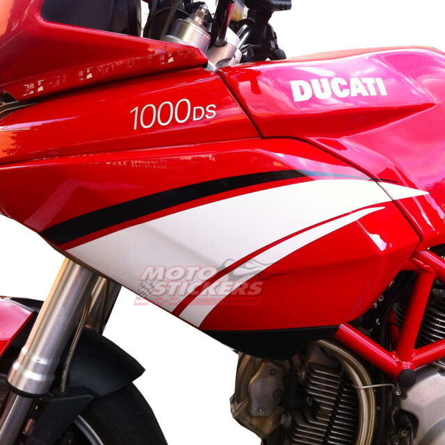 Adesivi Moto - Adesivi Pikes Peak ducati Multistrada 1000 3 bande