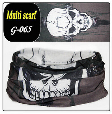 60Color Magic Head Face Mask Snood Bandana Neck Outdoor Warmer Wrap Shawl Scarf