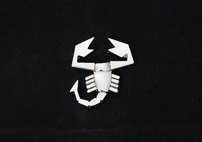3D Scorpion Chrome Metal Emblem Styling Car SUV Truck Motorcycle Steel Decal