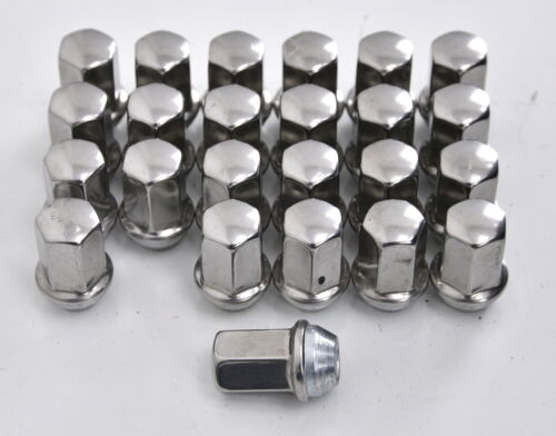 14x1.5 CADILLAC ESCALADE FACTORY OEM LUG LUGS NUT NUTS SET 9596070 WHEEL x24