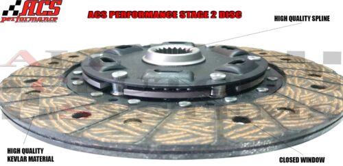 ACS STAGE 2 CLUTCH KIT for 2006-2012 SUBARU IMPREZA WRX 2.5L TURBO EJ255 5-SPEED