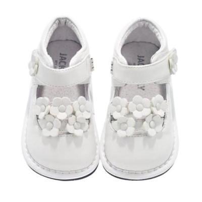 Schuhe Babyschuhe My Shoes Jack&lily Multi Flower White Leder Gr:12-18monate Neu Weiß ZuverläSsige Leistung Baby