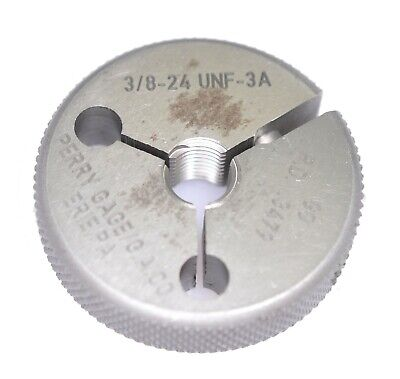 = 3430 INSPECTION TOOLING 3//8 24 UNF 2A THREAD RING GAGE .3750 NO GO ONLY P.D