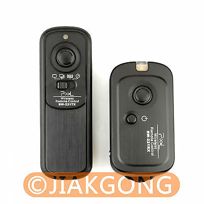 RW-221 Wireless Shutter Remote CANON G1X G10 Rebel T4i T3i T2i T1i XS XSi XTi