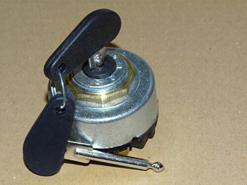 Zündschloss Lichtschalter 0//1//2//3 mit Fernlicht für Fendt Traktor