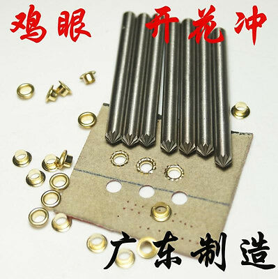 Leather Craft Most Type Chrysanthemum Flower Punch Hole Tool Eyelet Tool Puncher