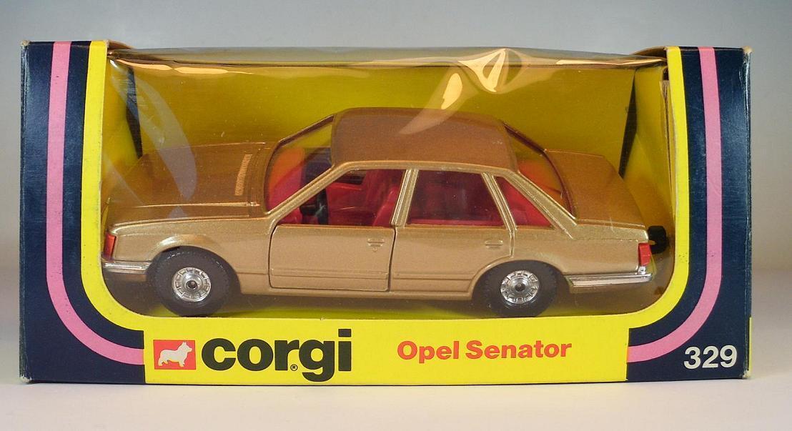 Corgi Toys 329 Opel Senator Champagne Bronze in O-Box