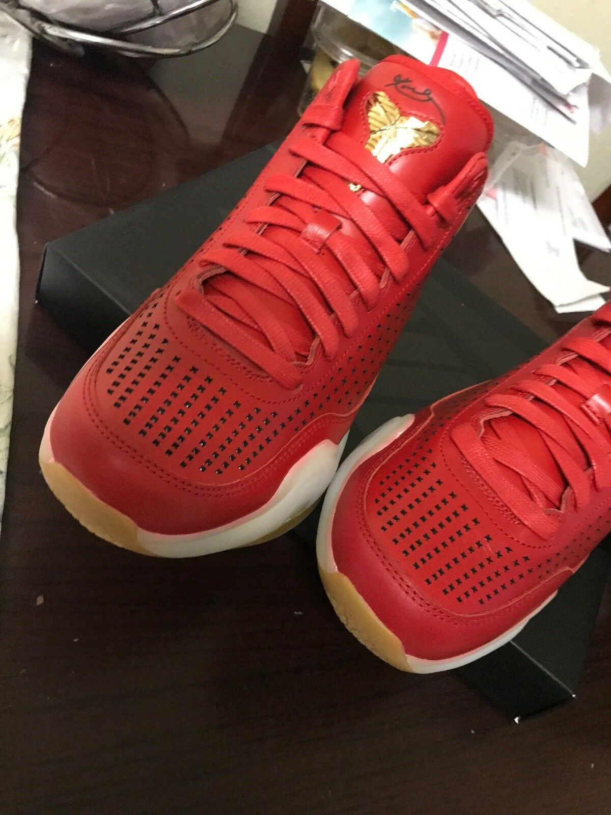 NIKE KOBE X 10 RED MID EXT MENS SHOES SIZE 10 LOT KD LEBRON JORDAN RETRO YEEZY best-selling model of the brand