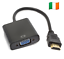 HDMI-Male-to-VGA-Female-HD-Video-Converter-Adapter-Cable-Monitor-PC-LAPTOP-094 thumbnail 1