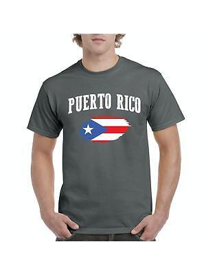 Puerto Rico Flag Imprint Country Outline Bandera Boricua Juniors V-neck T-shirt