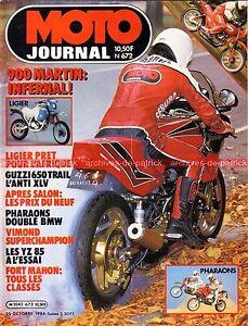 MOTO-JOURNAL-672-Essai-KAWASAKI-GPZ-900-R-MARTIN-Ninja-GUZZI-V65-TT-YAMAHA-YZ