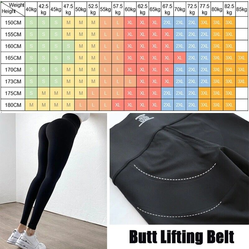 Image 4 - Ladies-tummy-tuck-fitness-butt-lift-pants-BUY-2-GET-10-off