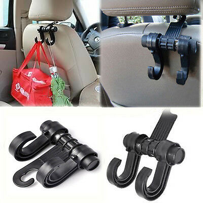 1PC Car Auto Clothes Hanging Holder Organizer Seat Bag Hanger Hook Accessories