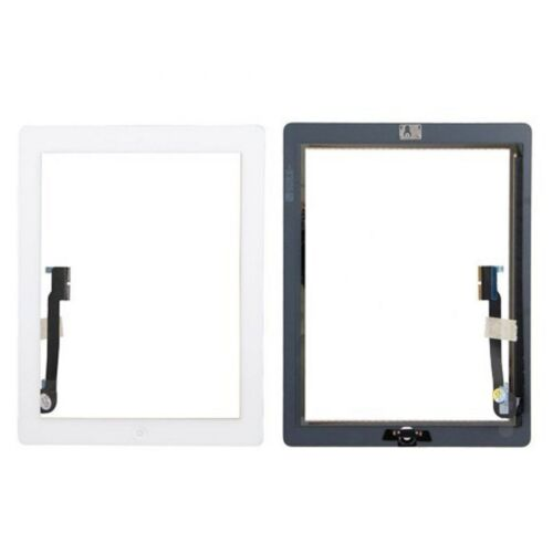 Apple iPad 3 White Touch Screen Glass Digitizer Compatible for Replacement
