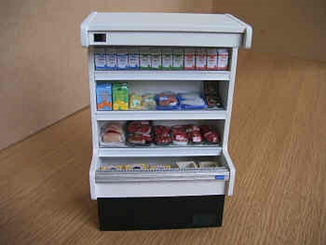 CASA delle bambole negozio in miniatura cibo non ARMADIO grandezza naturale