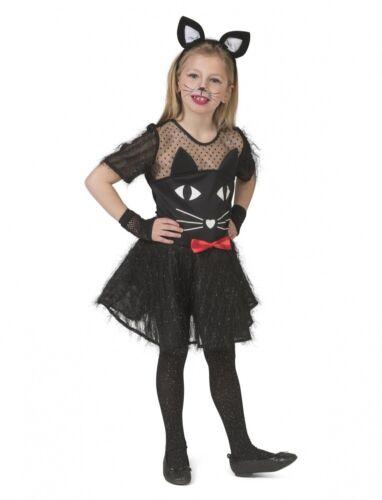 Robe Kitty black enfant