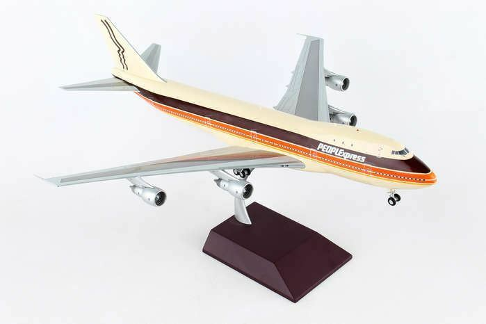 G2PEX695 GEMINI200 People Express 747-100 1 200 N603PE Model Airplane