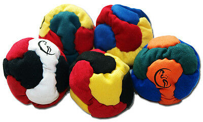 Flames N Games  6 Panel HACKY SACK aka Footbag / Hacky Sacks Foot Bag / Juggling