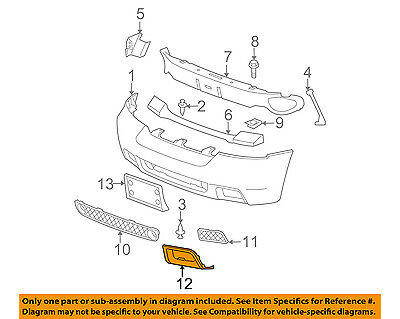 Partslink Number CH1037103 OE Replacement Dodge Truck Pickup Front Bumper Insert Multiple Manufacturers CH1037103C