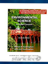 Environmental Science A Global Concern 11th Edition William Mary Ann Cunningham