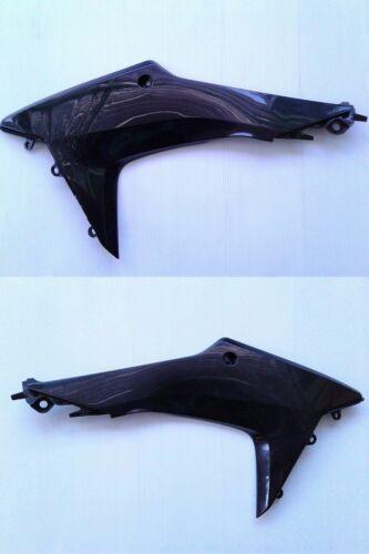 Honda CRF250L CRF250M Rear Shroud Side Fairing Left Right Set Black 2012-2018