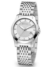 76203a5de0f Gucci G-Timeless 27MM Silver Dial Quartz Stainless Steel Women s Watch  YA126501