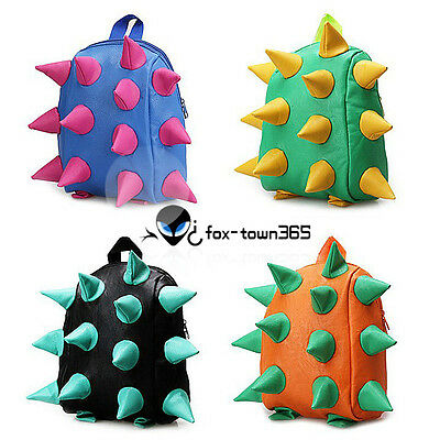 Child Kids Boys Girls Cosplay Fashion Hedgehog School Bag Lunch Box Back Pack