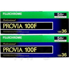 10 Rolls Fujifilm RDP-III Fujichrome 135-36 Provia 100f Color Slide Film FRESH