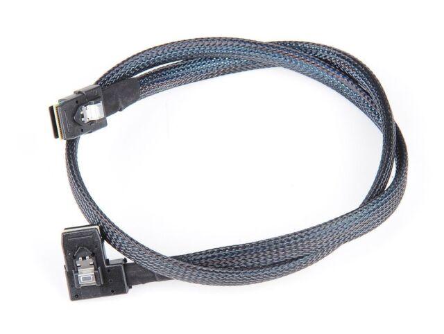 """HP 668242-001 Mini SAS SFF-8087 90 Degree Drive Cable 22/"""" 682626-001 new"""