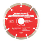Silverline 633624 Concrete and Stone Cutting Diamond Blade 125 X 22.2 Mm