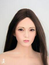 """Wonder 1//6 WLS004 Bingbing Fan eyes Movable Female Head For 12/"""" Figure"""