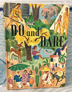 Vintage-Book-Do-and-Dare-1965-HC-D-C-Health-and-Company-Children