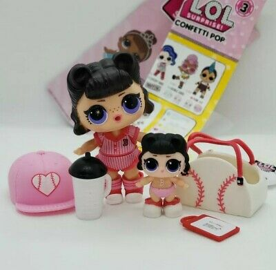 LOL Surprise Doll Short Stop Big Sister /& Short Stop Bunny Set Girl Toys Gift