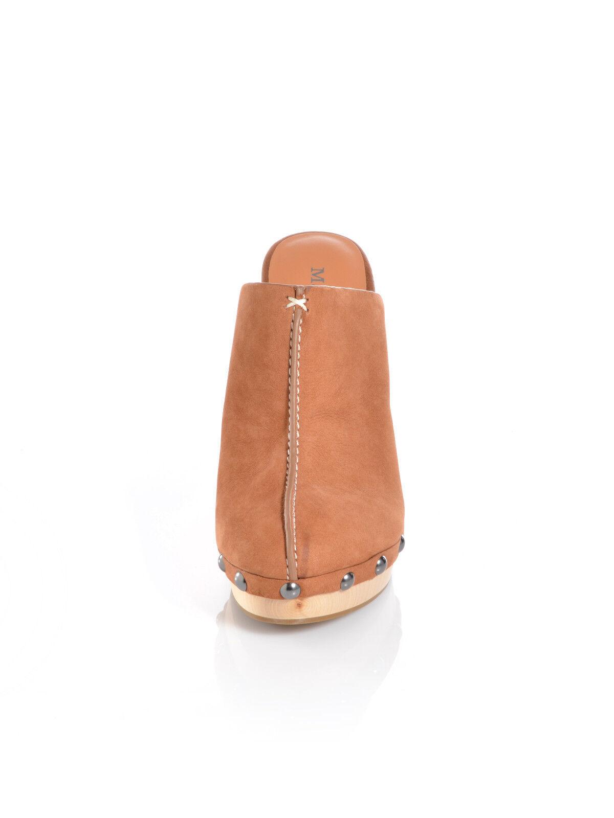 Marc O'Polo Damen Schuhe Pantoletten Leder 41 sand MOP SB7 Gr. 41 Leder 03183957603 e6784b