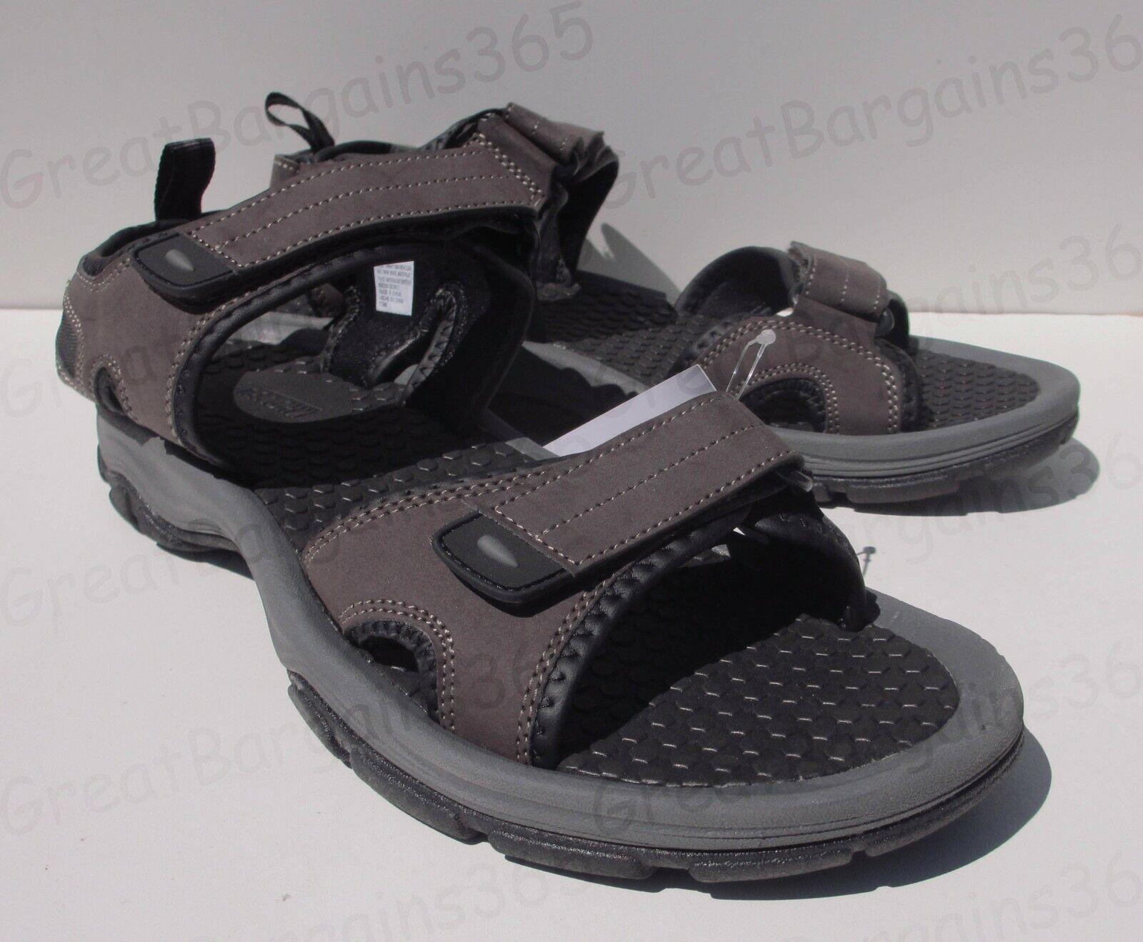 Men's UK 9 Khombu BARRACUDA River Comfort Sandals Footwear Beach Brown New*