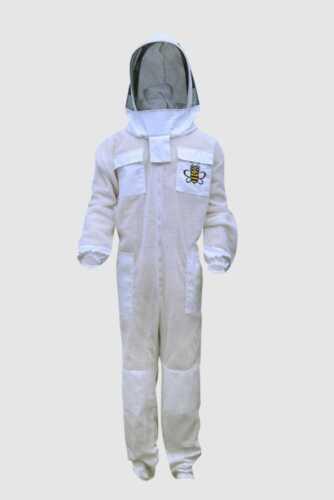 Ultra ventilated 3 Layer bee beekeeper beekeeping suit Astronaut Veil XLarge