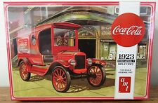 AMT #1024 Coca-Cola Coke 1923 Ford Model T Delivery Plastic Model Kit 1/25