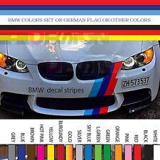 "Germany Flag Stripe Hood Vinyl Sticker Decal Racing Strip BMW AUDI VW hood 6"""