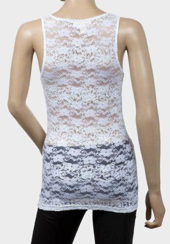 m Ladies Scoop Neck Lace Sleeveless Top, l #SALE# Derek Heart sizes s