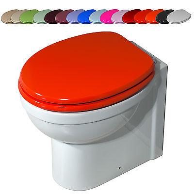 Copri water wc sedile universale 21 colori design bagno moderno PROMO