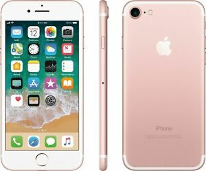 Apple iPhone 7 128GB Factory GSM Unlocked T-Mobile AT&T Smartphone - Rose Gold