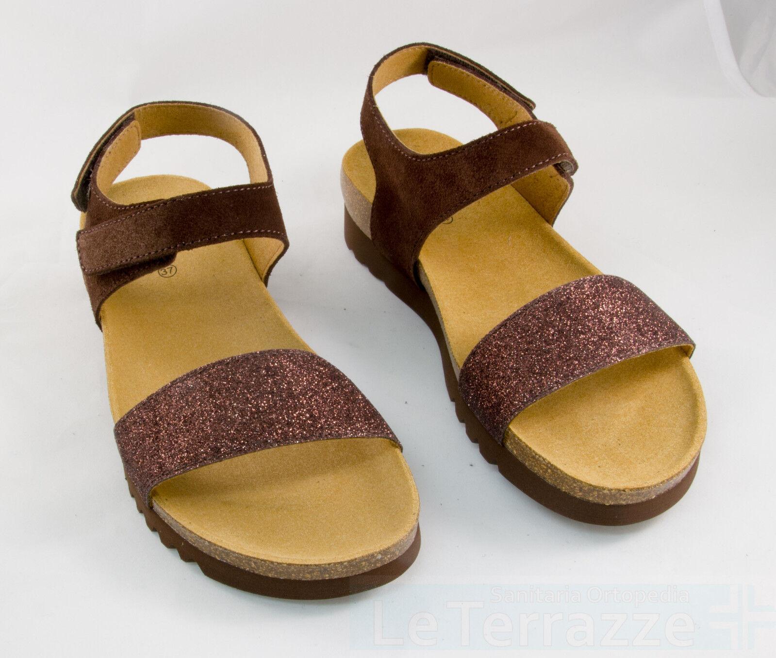 Dr Scholl Dores sandali bioprint pelle scamosciata SCONTO 10%