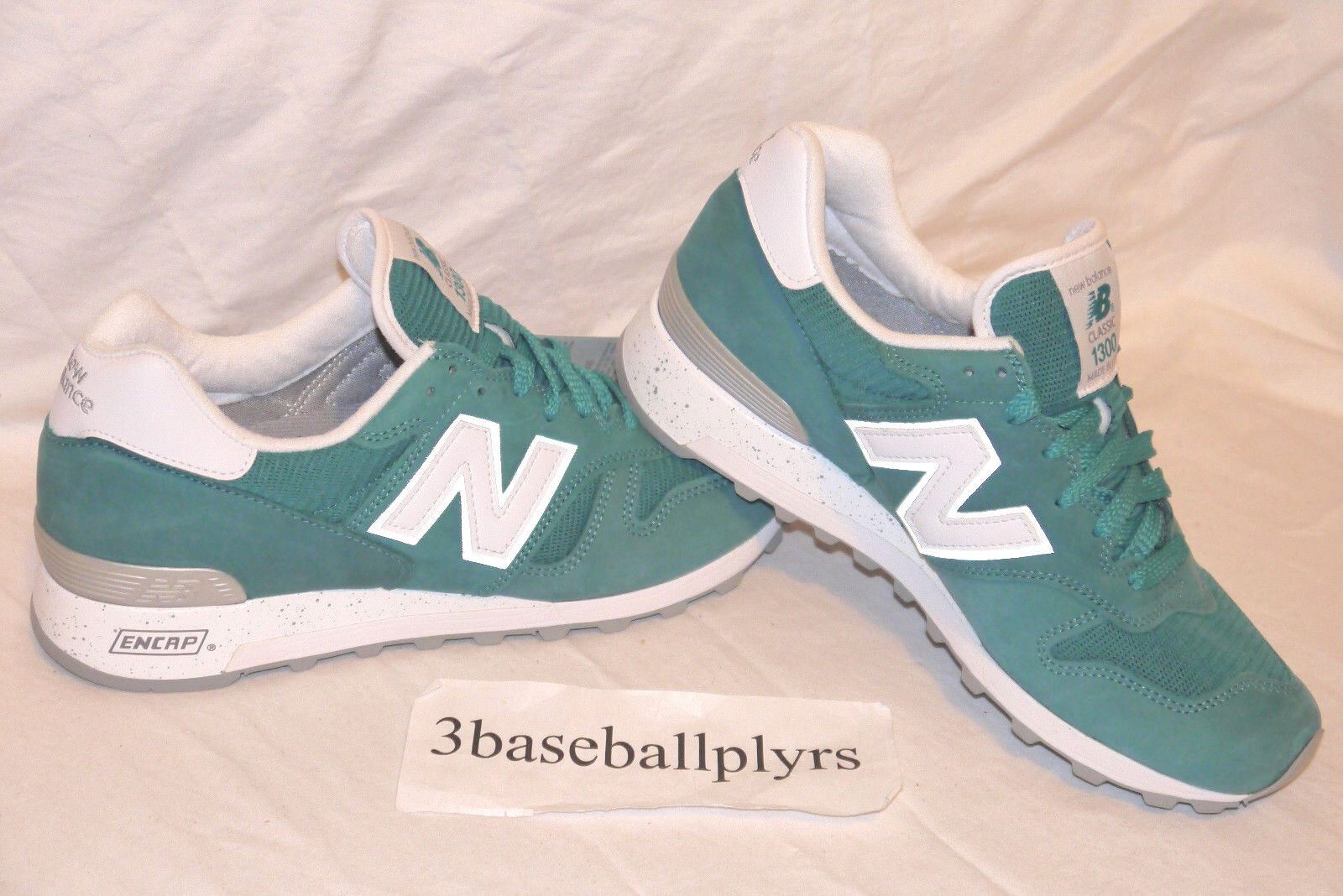 New Balance 1300 National Parks - CHOOSE SIZE - M1300NW Teal White MADE IN USA