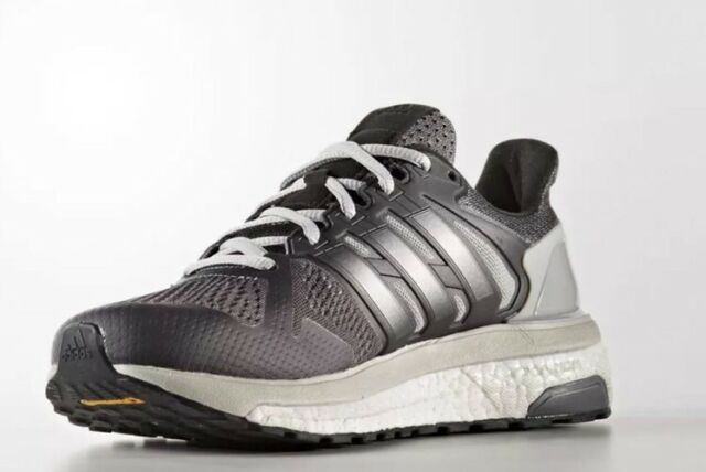 Adidas Boost Supernova ST Women s Size 7.5 Black Grey White NEW Free S  408ea1ed4