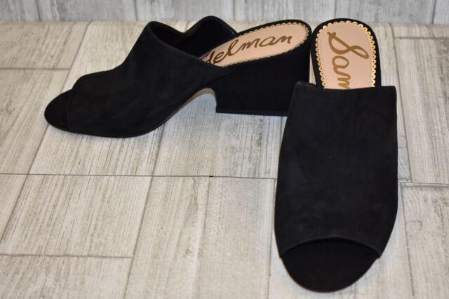 8933c34a432aa8 Sam Edelman Women s Rheta Mule Sandal Size 8 Black Suede for sale ...