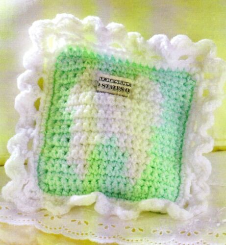 CUTE Tooth Fairy Pillow//Kids//Crochet Pattern INSTRUCTIONS ONLY